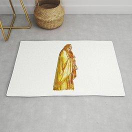 Life of Christ 'Judas Betrayal' figure interpretation Rug