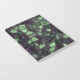 Fractal Gems 04 - Emerald Dreams Notebook
