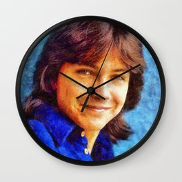 David Cassidy, Hollywood Legend Wall Clock