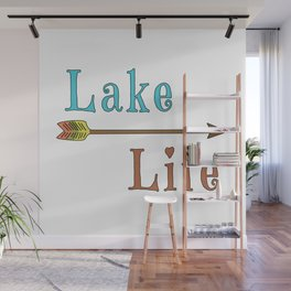 Lake Life - Summer Camp Camping Holiday Vacation Gift Wall Mural