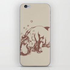 Hippo-Thesis iPhone & iPod Skin