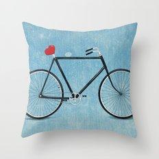 I ♥ BIKES Throw Pillow