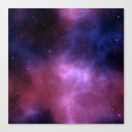 Purple Galaxy Canvas Print
