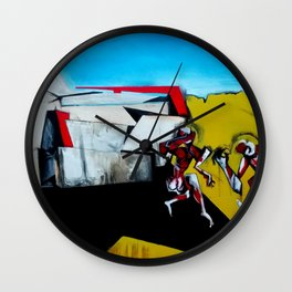 It's the Thinness of your Shadow Wall Clock