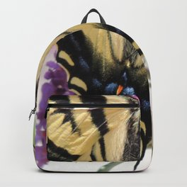 Western Tiger Swallowtail on the Neighbor's Butterfly Bush Backpack