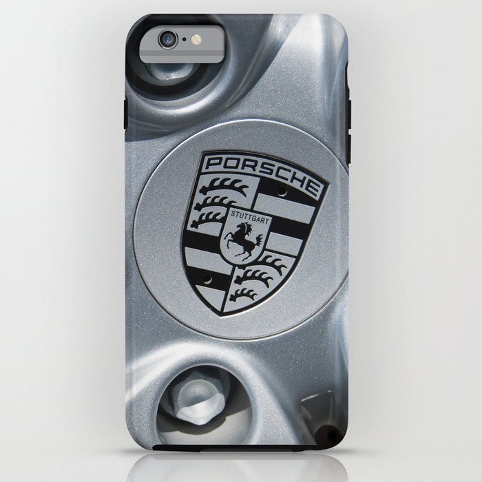 Porsche Wheel iPhone Case