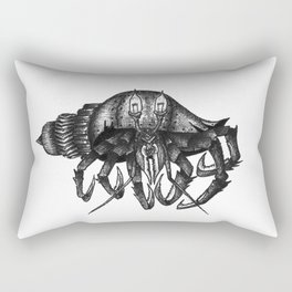 Steampunk angry crab Rectangular Pillow