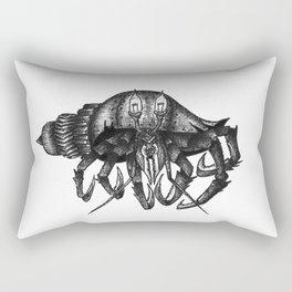 Steampunk angry crab Rectangular Pillow