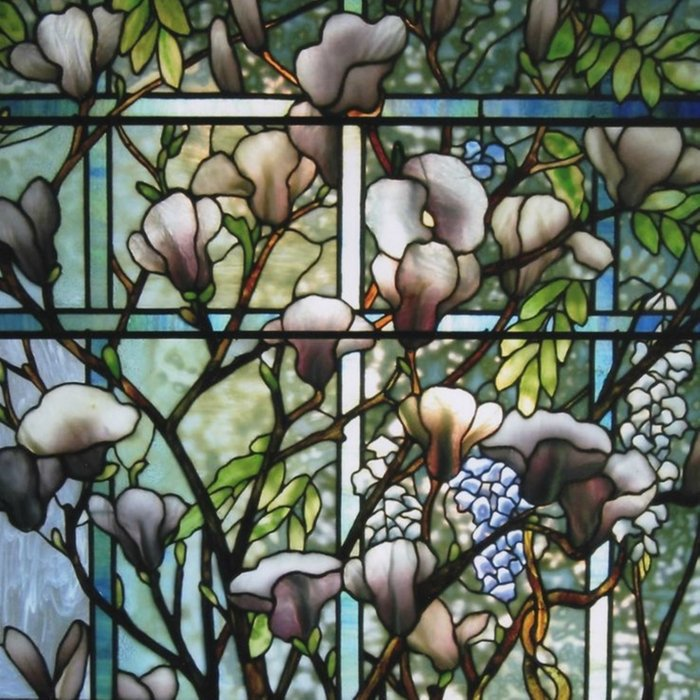 Louis Comfort Tiffany - Decorative stained glass 8. Comforters