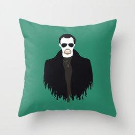 The Bitter End Throw Pillow