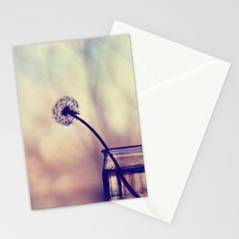dandelion morning Stationery Cards