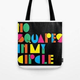 Circles & Squares Tote Bag