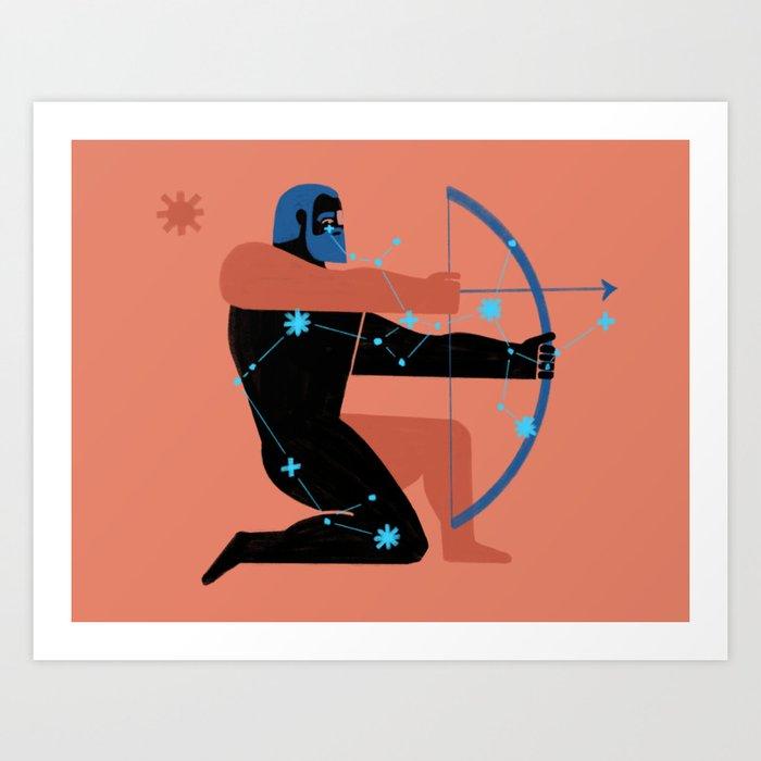 Sagitario Art Print
