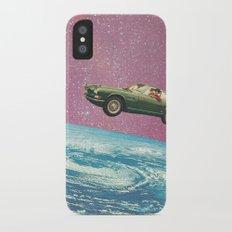 Bon voyage iPhone X Slim Case