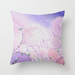 You Can't Stop the Lavender Throw Pillow