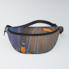 Butterfly Curve - Abstract Photographic Art by Fluid Nature Fanny Pack