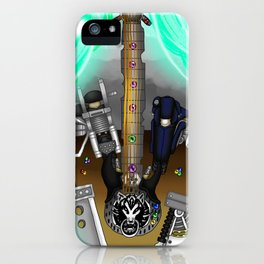 Fusion Keyblade Guitar #177 - Fenrir & Fenrir X iPhone Case