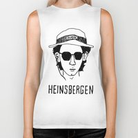 royal tenenbaums Biker Tanks featuring Heinsbergen (Royal Tenenbaums/Breaking Bad) by Tabner's