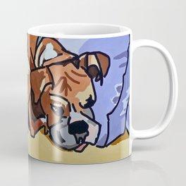 Abby Rests Boxer Dog Portrait Coffee Mug