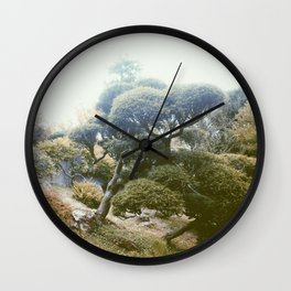 T H E • G ▲ R D E N Wall Clock