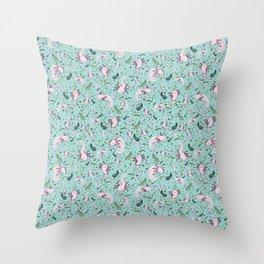 Axolotls Throw Pillow