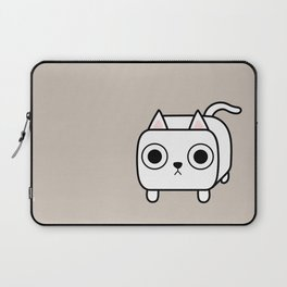 Cat Loaf - White Kitty Laptop Sleeve