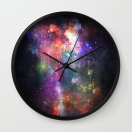 The Melting of Our Space-Time Fabric Wall Clock