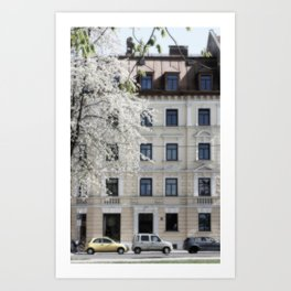 Munich House Art Print
