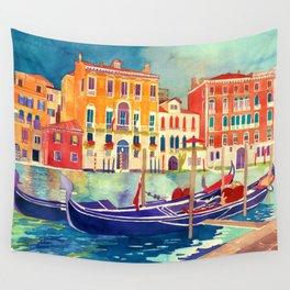 sunshine in Venezia Wall Tapestry