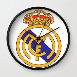 Real Madrid Logo Wall Clock