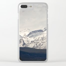 Panorama of the Rockies Clear iPhone Case