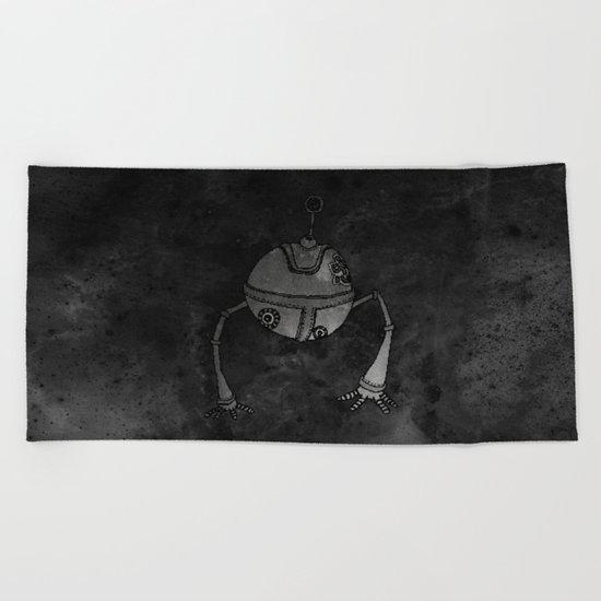 The Devoted Robot Beach Towel