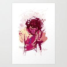 Digital Drawing #12 Art Print