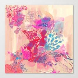 LOTUS - BUD Canvas Print