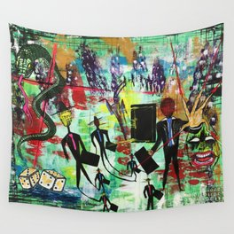 Q. What do you fear the most? A. B******* @@@e ###m Wall Tapestry