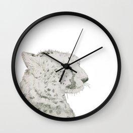 Graceful Cheetah Wall Clock
