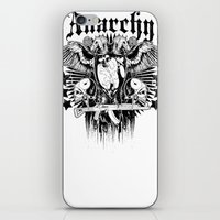 sons of anarchy iPhone & iPod Skins featuring Anarchy by Tshirt-Factory