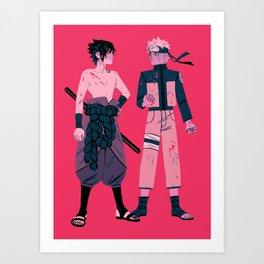Narutos Art Print