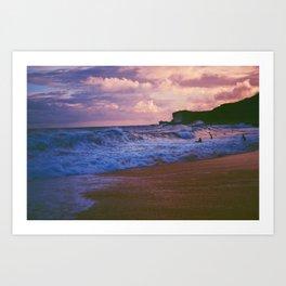 Waves Dance Art Print