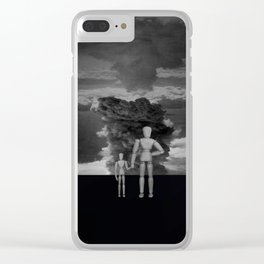 Whats wrong with the clouds ? Clear iPhone Case