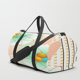 Mid-Century Modern Art Atomic 1.0 Duffle Bag