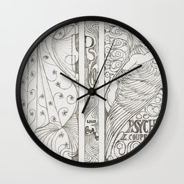 Cover Design for Louis Couperus Psyche (1898) by Jan Toorop Wall Clock