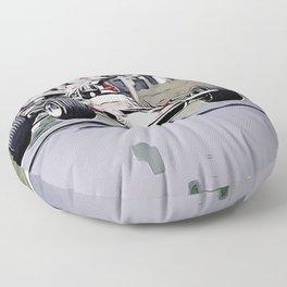 Nordschleife Formula 1 Jump Floor Pillow