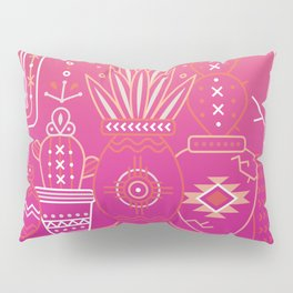 Santa Fe Garden – Pink Sunset Pillow Sham