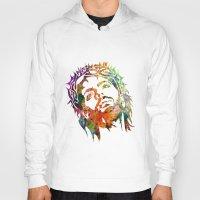 jesus Hoodies featuring JESUS  by mark ashkenazi