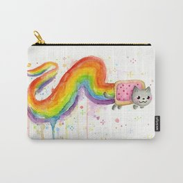 Rainbow Cat in Pop Tart Carry-All Pouch