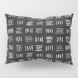 Lines on Lines // White Pillow Sham