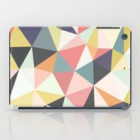 deco iPad Cases featuring Deco Tris by Beth Thompson