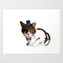 Oliver Twist: Society Cat. Art Print