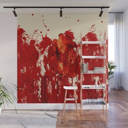 Blood Heart Wall Mural